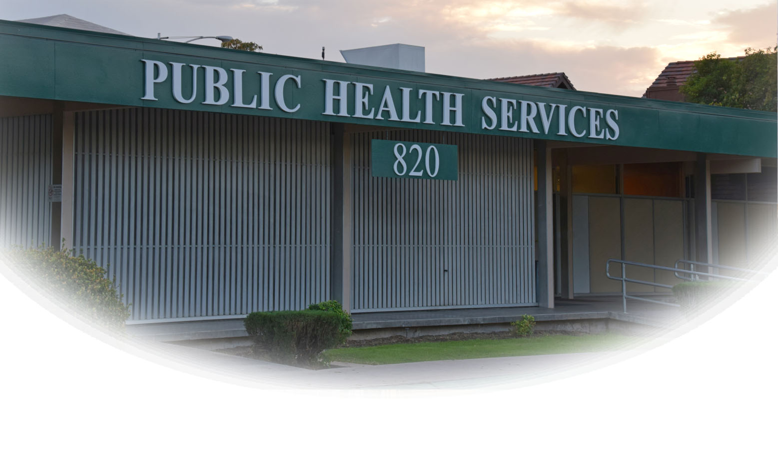 SCHSA Main Campus Public Health Sign